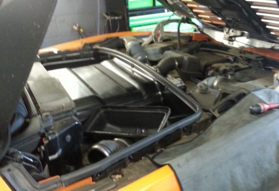 Lamborghini Gallardo - przegląd przebiegowy