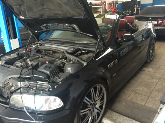 BMW E46 M3  zmiana oprogramowania