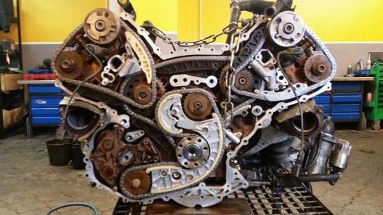 Silnik Audi S4 4.2 Benzyna BBK
