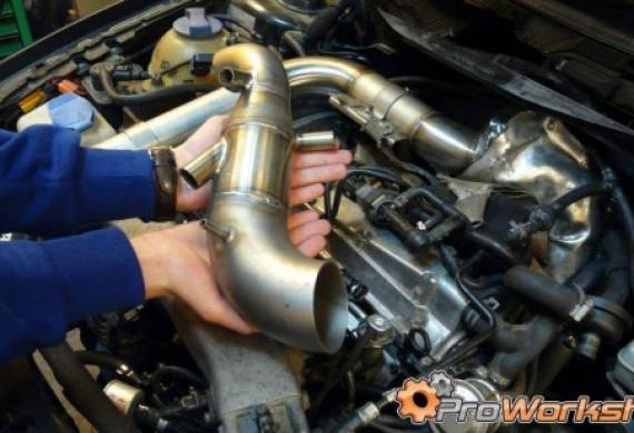 TIP czyli customowy dolot powietrza do turbosprężarki. Audi A3/S3 1.8T 8L