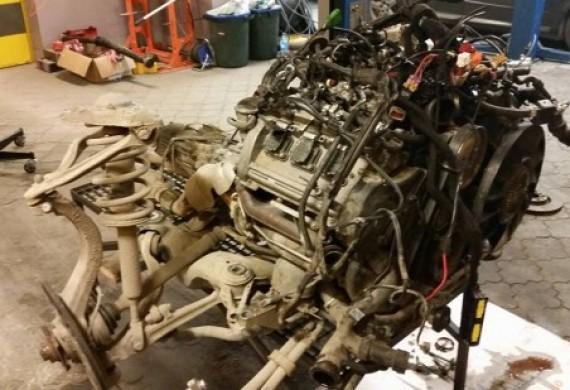 Wymiana uszczelek pod głowicą + naprawa turbosprężarek. Audi A6 2.7 BiTurbo 320 KM