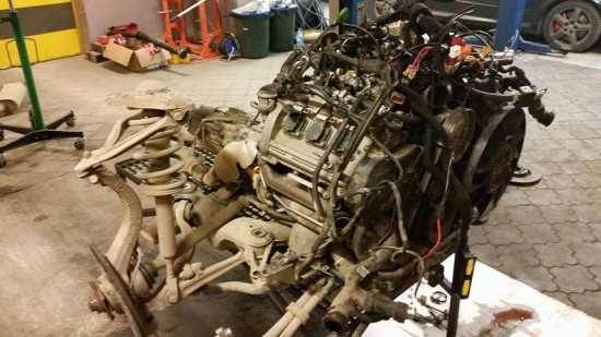Silnik Audi A6 2.7 BiTurbo 320 KM