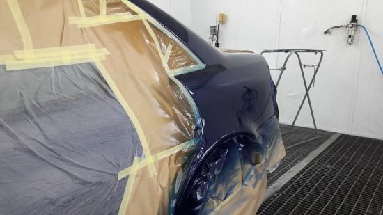 Błotnik Audi A4