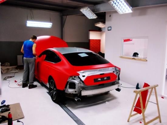 Zmiana Koloru Samochodu - Oklejanie