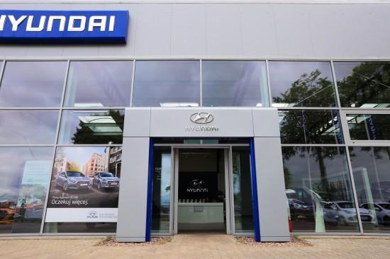 Wejście do Nord Auto Hyundai