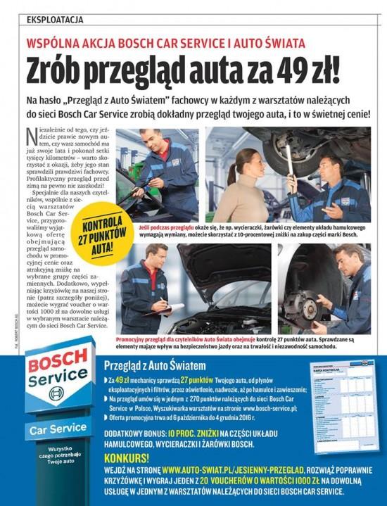 """Hasło - """"Przegląd z Auto Światem""""."""