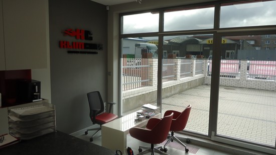Widok na nasze biuro