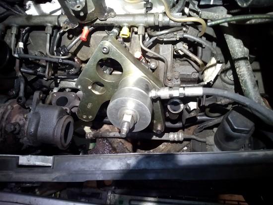 Wyciąganie wtrysków Mercedes A klasa 1.7 cdi
