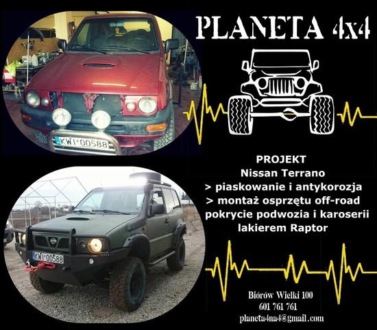 projekt Nissan Terrano