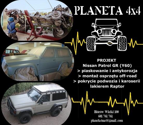 projekt NIssan Patrol GR (Y60)