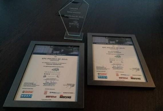 W grudniu odebraliśmy tytuł drugiego warsztatu w Polsce w ranking DEKRA - sprawdź nas