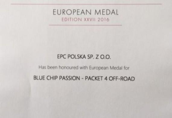 Zdobyliśmy kilkakrotnie Medal Europejski za prace doposażeniowe pod hasłem