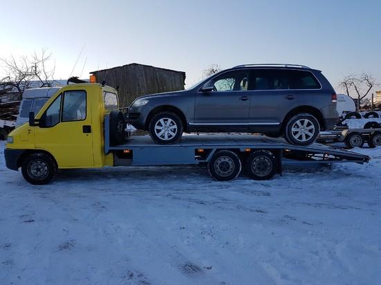 VW Touareg na naszej lawecie