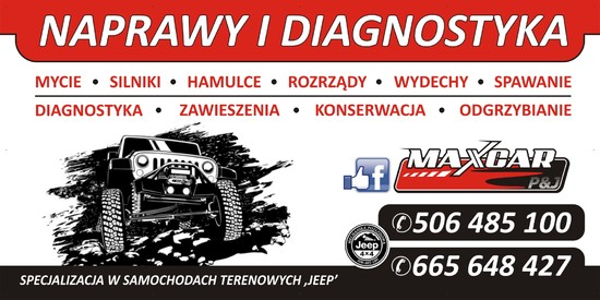 MAXCAR Mechanika Pojazdowa