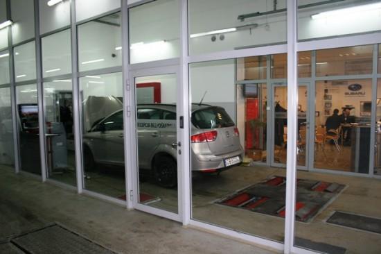 Recepcja przyjęcia samochodu