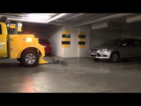 Obsługujemy garaże podziemne