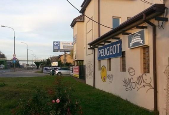 fotka serwis  z zewnątrz od strony ul. Radzymińskiej