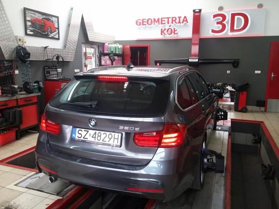 BMW F31 GEOMETRIA KÓŁ