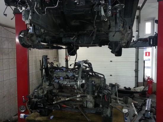 Wymiana silnika