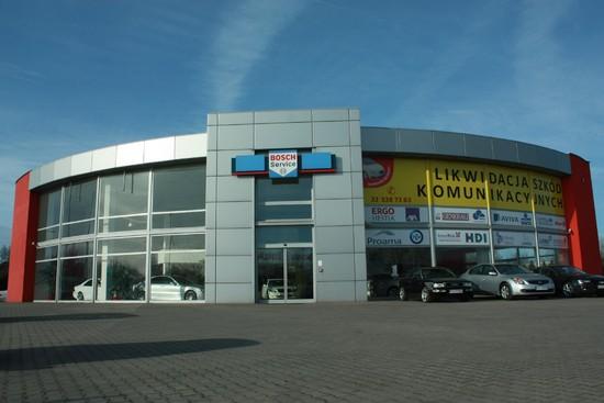 RajAuto Bosch Car Service - Budynek