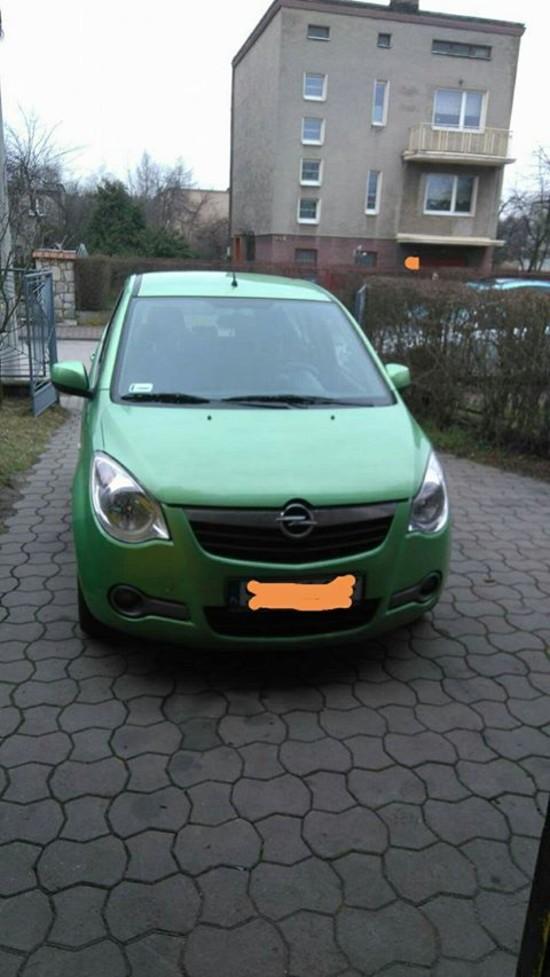 Naprawa Opel Agila