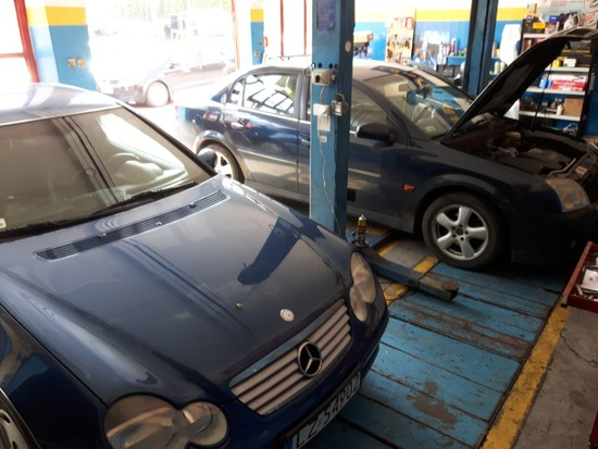 Mercedes naprawa hamulcy Vectra C przegląd