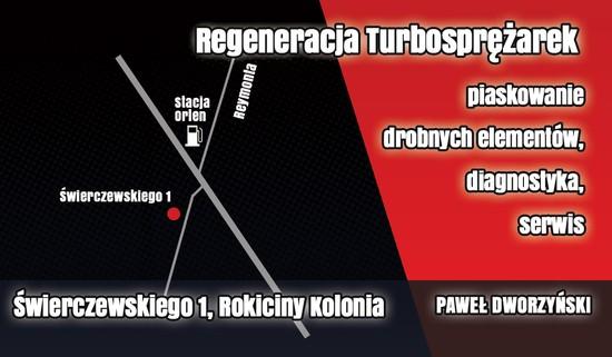 Mapka dojazdu do warsztatu