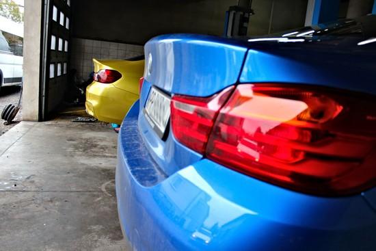BMW Serii 4 F32 i BMW M4 F82