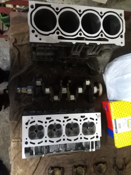 Remont silnika BKY skoda