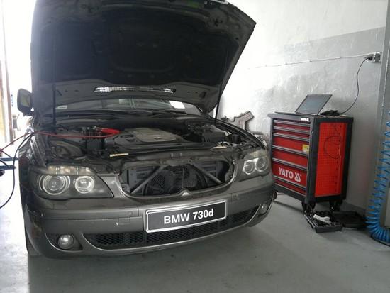 BMW E65 730d - problemy natury elektronicznej