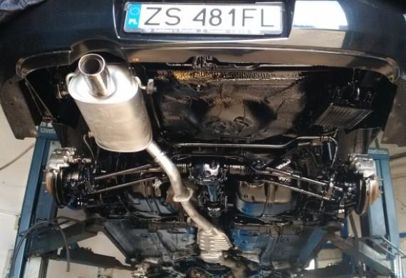 Auto po konserwacji podwozia