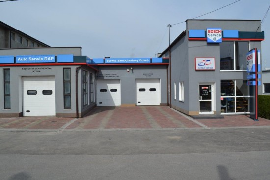 Siedziba Bosch Car Service DAP