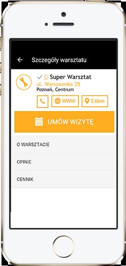 Aplikacja mobilna DobryMechanik