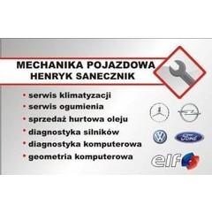 Mechanika Pojazdowa Henryk Sanecznik