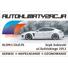 KLIMACOLD - Auto klimatyzacja Jaworzno. Przeglądy oraz serwis klimatyzacji