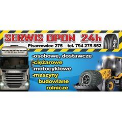 Serwis Ogumienia Ciężarowe/Osobowe/Motocyklowe/Rolnicze/Masz. Budowlane/Dostawcze 24H