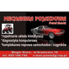 Mechanika pojazdowa Paweł Nowak
