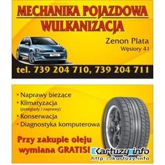 mechanika pojazdowa -wulkanizacja
