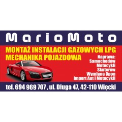 MarioMoto Motocykle Samochody Serwis