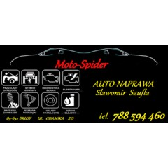 """mechanika pojazdowa Sławomir Szufla """"moto-spider"""""""