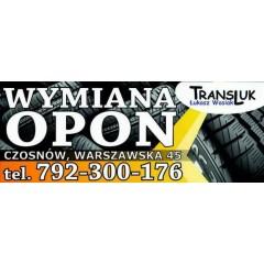 TRANSLUK ŁUKASZ WASIAK - SERWIS OPON, PRANIE TAPICEREK
