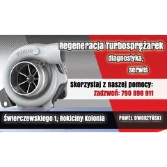 Regeneracja turbosprężarek Paweł Dworzyński