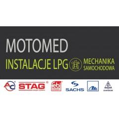 MOTOMED Mechanika samochodowa, montaż instalacji LPG