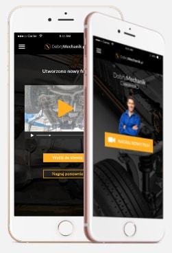 aplikacja dla warsztatów