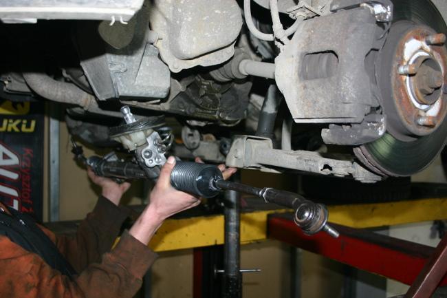 Przekładnia kierownicza montaż w bmw 5